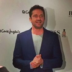 Marvelous #GerardButler #Gerry for @HugoBoss at @ElCorteIngles #ManOfToday Madrid @MagliYus #lifestyle #belleza #menStyle #aloastyle #Parfum #Eaudecologne #perfumery @elsonidodemistacones #Fotazo
