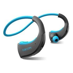 DACOM Armor Bluetooth Headphone Sport Earpods  IPX5 Water-Proof Wireless Headset. Great for workout, gym and running without tangles! Fits well into workout and gym clothes. Great gift products for android Samsung Galaxy, LG, Sony and Apple iPhone 7 users, men and women and those who are active in health and fitness and travel. Take music anywhere you go, packs easily in purses, luggages, backpacks and travel bags. #Technology #Workout #Cool