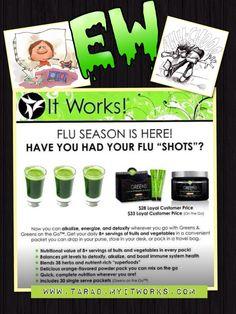 I started to take mine...do you want to be sick? TaraD.MyItWorks.com
