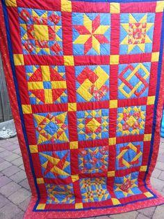 Mijn 1e quilt;  gemaakt voor mijn dochter