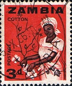 - Postage stamps of Zambia 1964 Industries SG 97 Fine Mint Scott 7 Other Zambia Stamps For Sale HERE.