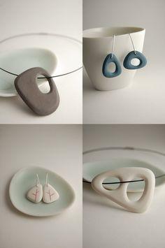 Porcelain Jewelry http://www.yashabutler.com/bone-jewelry/n763907mz1zbgrs3z665qt6z5w7qft