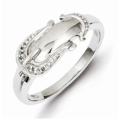 925 Sterling Silver Diamond Buckle Engagement Wedding Ring 01 cttw 2mm *** Read more reviews of the product by visiting the link on the image.