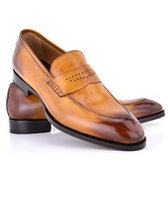 Di Bianco | Legno Perforated Keeper Loafer | Shoes | Men's