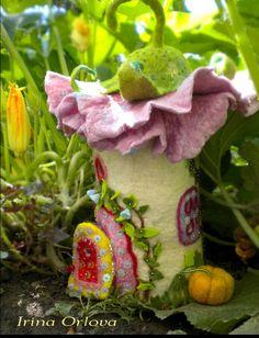 Pink Irina Orlova Woodland flower Cottage