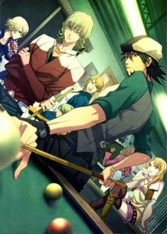 Tiger and Bunny. from the name, it sound like a preschool show. it's def not! lol. actually pretty cool, but like most anime, I wouldn't let anyone under 16 watch it... (tho it's pretty clean)
