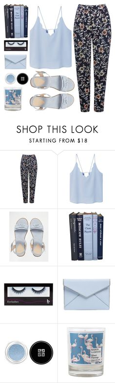 """""dreaming of you this hot summer night, but you will never know..``."" by sweet-jolly-looks ❤ liked on Polyvore featuring M&Co, MANGO, ASOS, BBrowBar, Rebecca Minkoff, Givenchy, Maison La Bougie, Summer, casual and love"