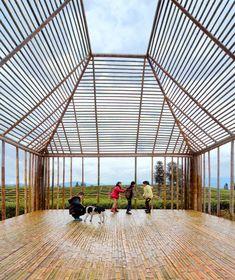 Galeria de Pavilhão de Bambu / DnA_Design and Architecture - 1