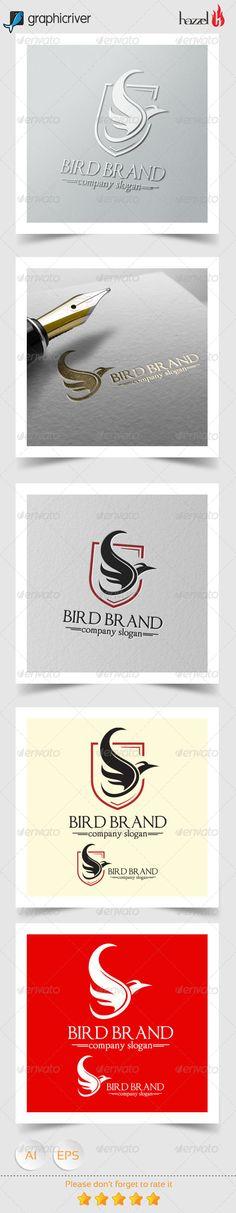 Bird Brand Logo — Vector EPS #brand #bird logo • Available here → https://graphicriver.net/item/bird-brand-logo/8182590?ref=pxcr