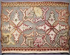 Россия.Конец свадебного полотенца.  1860-1870 гг