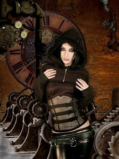 kato steam punk couture by dream walls art studio, via Flickr