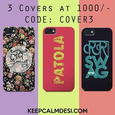 Phone Covers by keepcalmdesi.com only at Rs. 500/- To buy them call us or WhatsApp at 919711006666 or log onto keepcalmdesi.com #T-Shirts #BarItems  #Keychains  #Phonecovers and more. Special offer: Buy 3 covers at 1000/- Code: COVER3 Free tampered glass with every cover. Only one offer valid at a time. Valid on select models only. Available models Apple IPhone 4/4S5/5S5C6/6S6 Samsung Note IIIIII Galaxy S2S3S4S5S6S6 edge GrandGrand 2 Galaxy Alpha Motorola Moto GMoto G2Moto G3 Moto E Moto X…