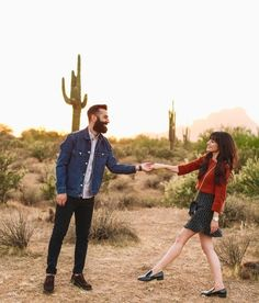 New Darlings - Desert Shoot - Couples Photoshoot Ideas  #ShopStyle #ssCollective #MyShopStyle #fallstyle #couplesstyle