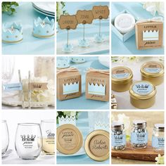 Little Prince Baby Shower Party Favors from HotRef.com #littleprince #babyshower