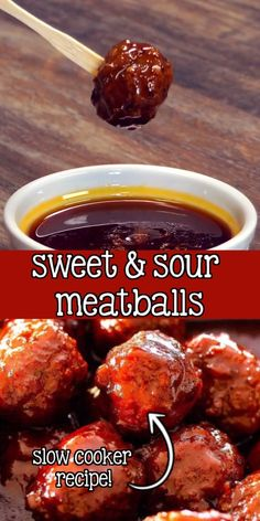 Slow Cooker Recipes, Crockpot Recipes, Cooking Recipes, Meatball Crockpot Recipe, Barbecue Meatball Recipes, Frozen Meatball Recipes, Sweet And Sour Meatballs, Sauce For Meatballs Easy, Meatballs With Grape Jelly