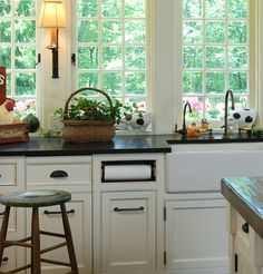 Clean up the Kitchen Counter    The under-counter paper-towel holder is an absolute must for every perfect kitchen. Built right into the cabinetry, it is at your fingertips for daily use, but is out of sight to keep your kitchen pristine.