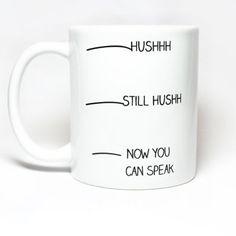 Now you can speak mug!
