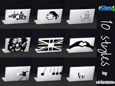 MacBook Stickers by Waterwoman at Akisima
