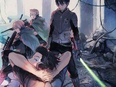 World Trigger - Miwa Squad