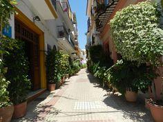 Marbella Casco Antiguo in Spring.