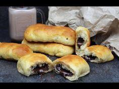 Bollicao casero sin lactosa | Bollitos rellenos de chocolate