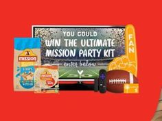 Mission This Big Game, Bigger Flavor Sweepstakes