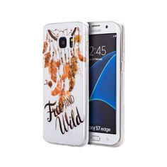 Free and Wild Watercolor Samsung Galaxy S7 Edge Smartphone Case #PH-TISAMS7EG-WCS-FAW