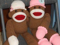 Chunky Monkee Bulky Knitting Machine Pattern by MonkeyTownStation, $7.95
