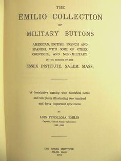 ButtonArtMuseum.com - Military Buttons The Emilio Collection 1942 Descriptive Catalog Photos
