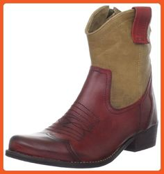 MIA Women's Richwood Boot,Red/Natural,7 M US - Boots for women (*Amazon Partner-Link)