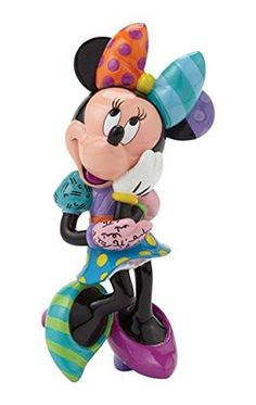 Enesco Disney by Britto by Enesco Minnie Mouse Figurine, 6""