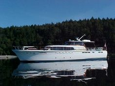 1960 66' Chris Craft Constellation - I took my first trip to the Bahamas on one of these…Unforgettable!