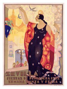 Cartel Feria de Primavera de Sevilla 1932