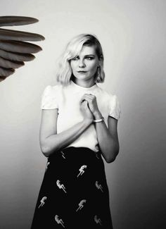Kirsten Dunst [directed by Michael Stipe (a great hero of mine) in one of my favourite music videos ever: We All Go Back to Where We Belong]