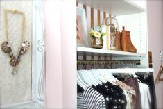 displays, merchandising, inside blush, blush boutique, stripes, mocha, patterns, cute dresses,