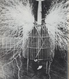 "NIKOLA TESLA, ""MAD SCIENTIST"", OBSESSIVE, ECCENTRIC Genius Inventor of the ""TESLA COIL"" and Developer of the ""ALTERNATING CURRENT (AC) SYSTEM"", who Held over 700 Patents and DIED ALONE and PENNILESS in NEW YORK CITY."