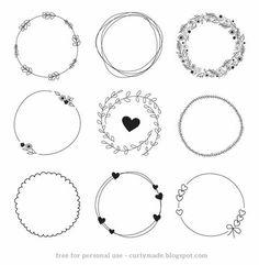 手帐 & Bullet Journal // 手残也能学会超过100种款式的简单手绘 Decoration!