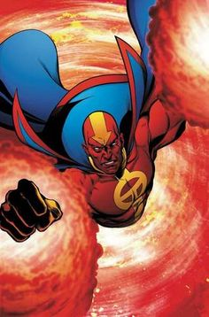 ... Comic Art - Red Tornado on Pinterest | Tornados, Red and Dc comics