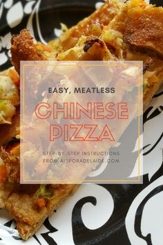 Meatless Chinese Piz