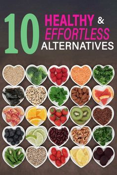 Choose the healthy alternative for your diet! #healthy