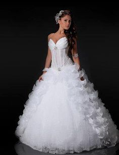 Vestido de noiva, gracioso.