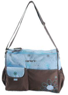 abdbda85f2aa7 4Pcs Carter s Baby Changing Diaper Nappy Bag Mummy Shoulder Handbag Brown  Pink  2~ 5 Cute