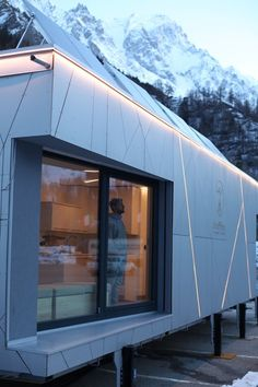 Biosphera 2.0, Monte Bianco, 2016 - ZEPHIR - Zero Energy and Passivhaus Institute for Research, Politecnico di torino
