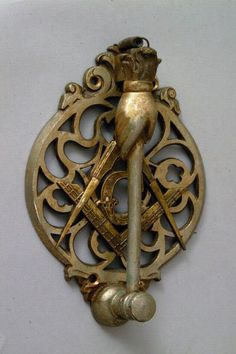 Masonic Door Knocker