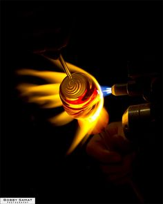 Glass Blowing 2011.12.19 by bobbysamat, via Flickr