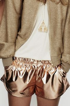 Metallic Shorts