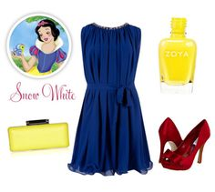 Modernizing Disney's Leading Ladies Fashion - #SnowWhite #Adornation