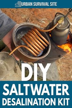 In this video, NightHawkInLight explains how to make a DIY saltwater survival bottle. This portable desalination kit converts saltwater to freshwater.