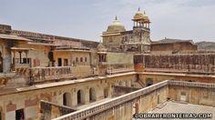 Interior do Palácio de Amber, Índia
