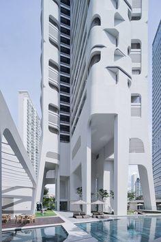 Ardmore Residence skyscraper in Singapore | Architect: UNStudio #architecture ☮k☮